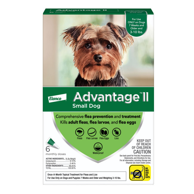 Advantage II for Dogs 310 lbs 6pk