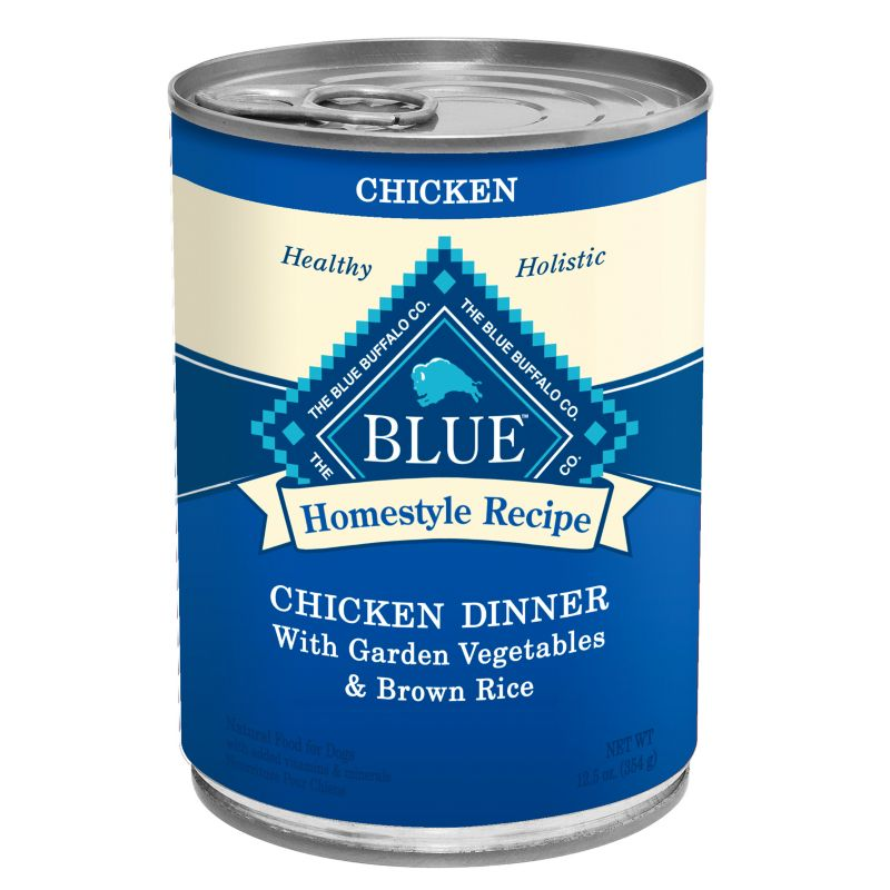 Blue Buffalo Homestyle Can Dog Food 12pk Chicken