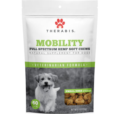 Mobility Hemp Soft Chews for Small Dogs 60 ct