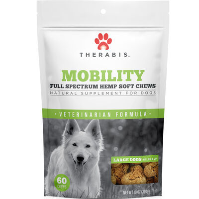Mobility Hemp Soft Chews for Large Dogs 60 ct