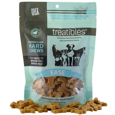 Treatibles Ease Hard Chews Small/Medium Dogs (40 lbs and under) Approx. 75 ct
