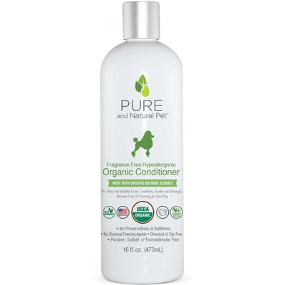 Pure and Natural Pet Organic Conditioner 16 oz