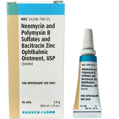 B.N.P. Triple Antibiotic Ophthalmic Ointment 3.5gm Tube