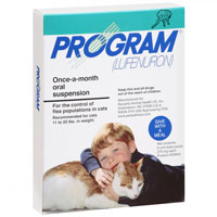 Program Oral Suspension 11-20 Lbs Cats Teal 12 Ampules
