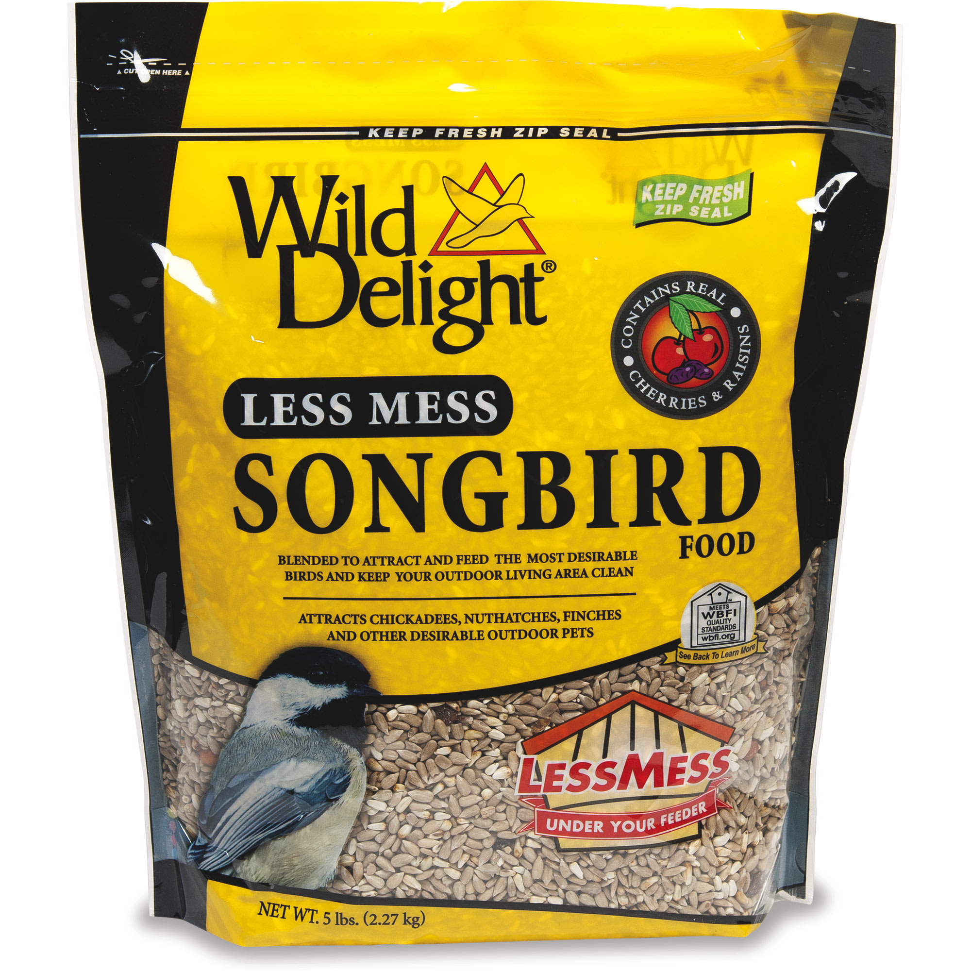 Wild Delight Less Mess Songbird Food, 5 lbs.