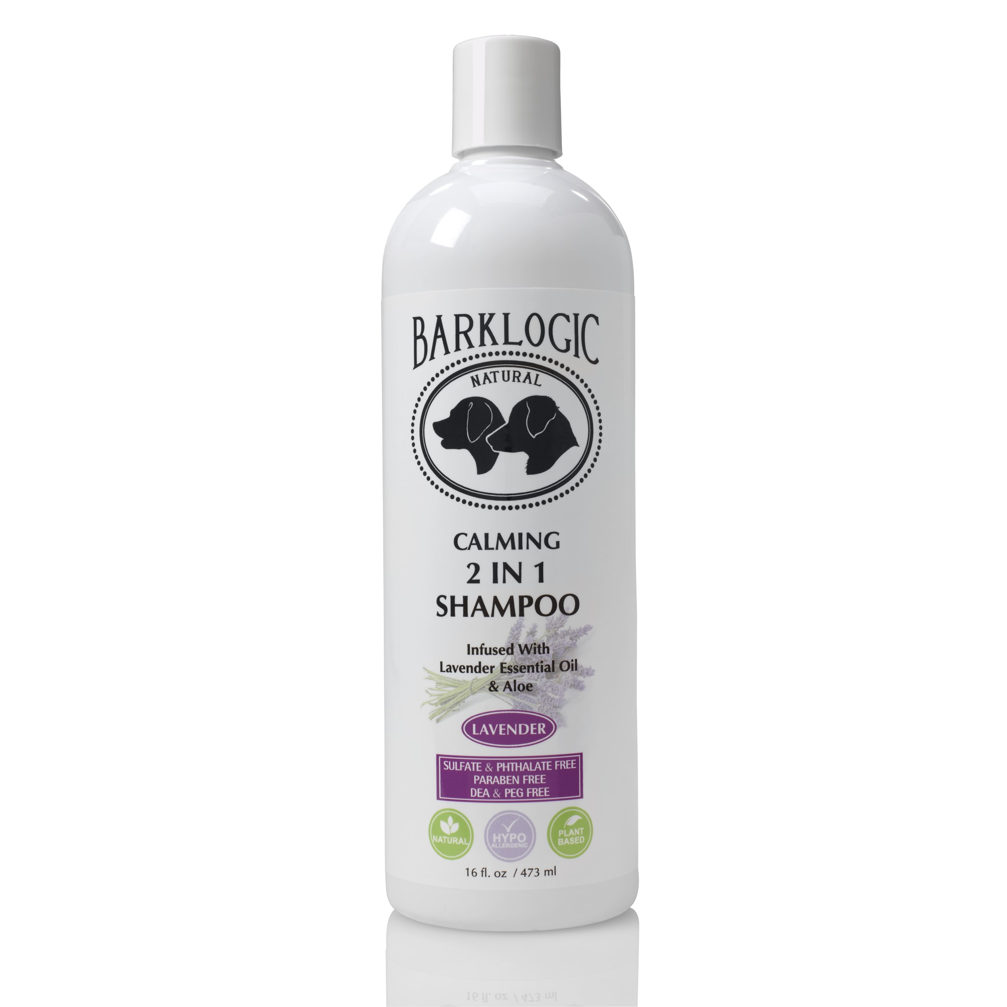 Barklogic Calming 2 in 1 Shampoo, 16 oz.