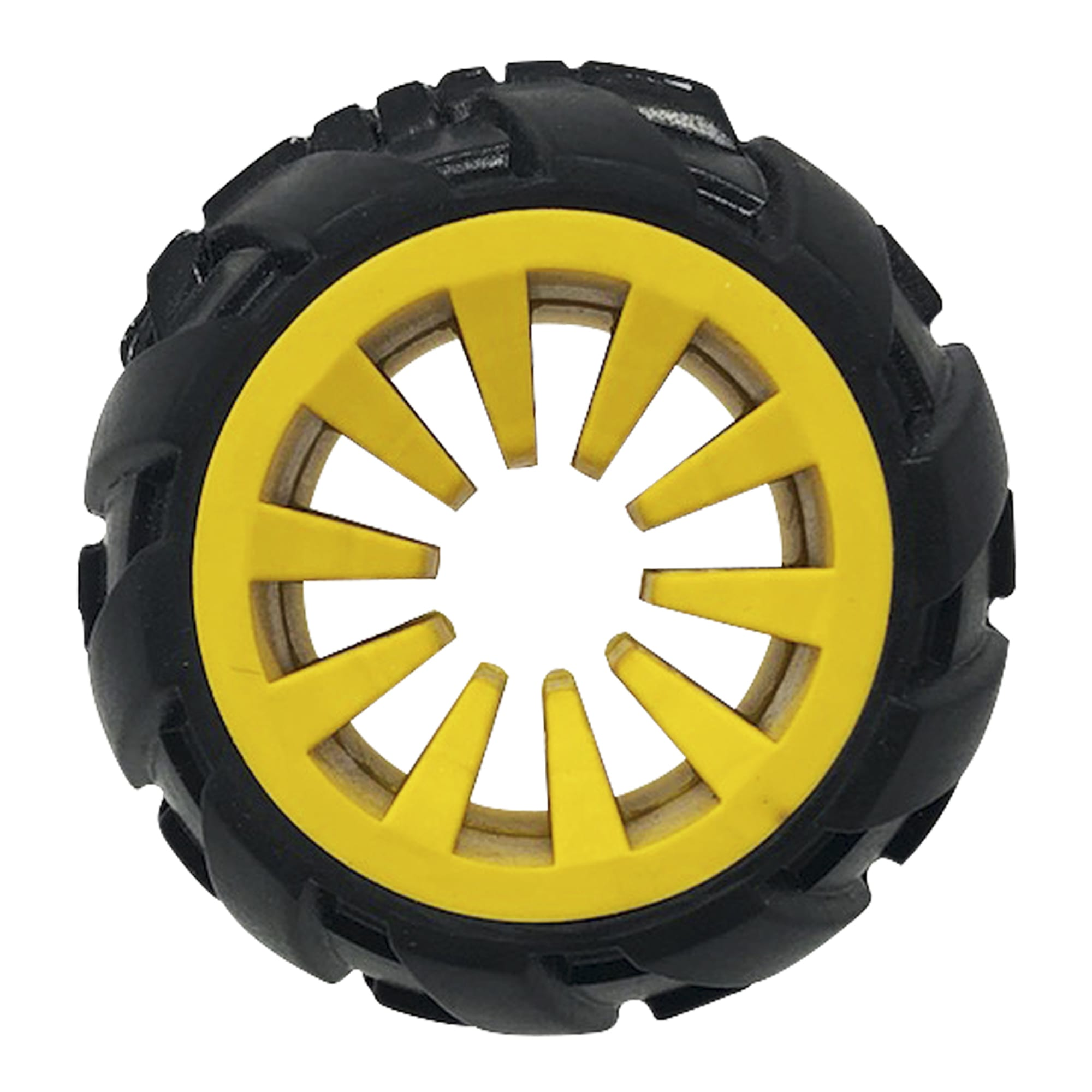 Tonka Mega Tread Treat Holder for Dogs, Small, Yellow / Black