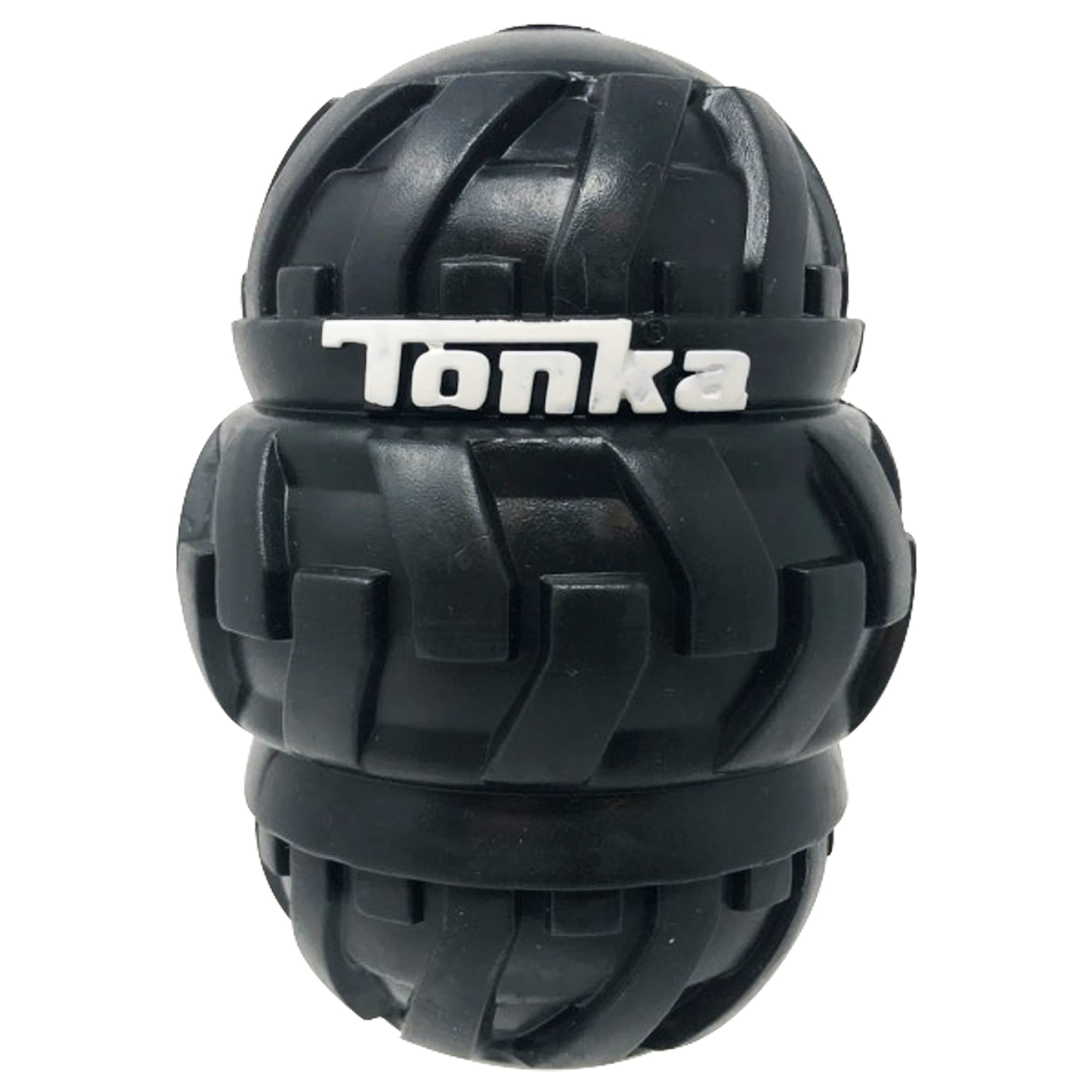 Tonka Tri-Stack Tread Feeder for Dogs, X-Large, Yellow / Black
