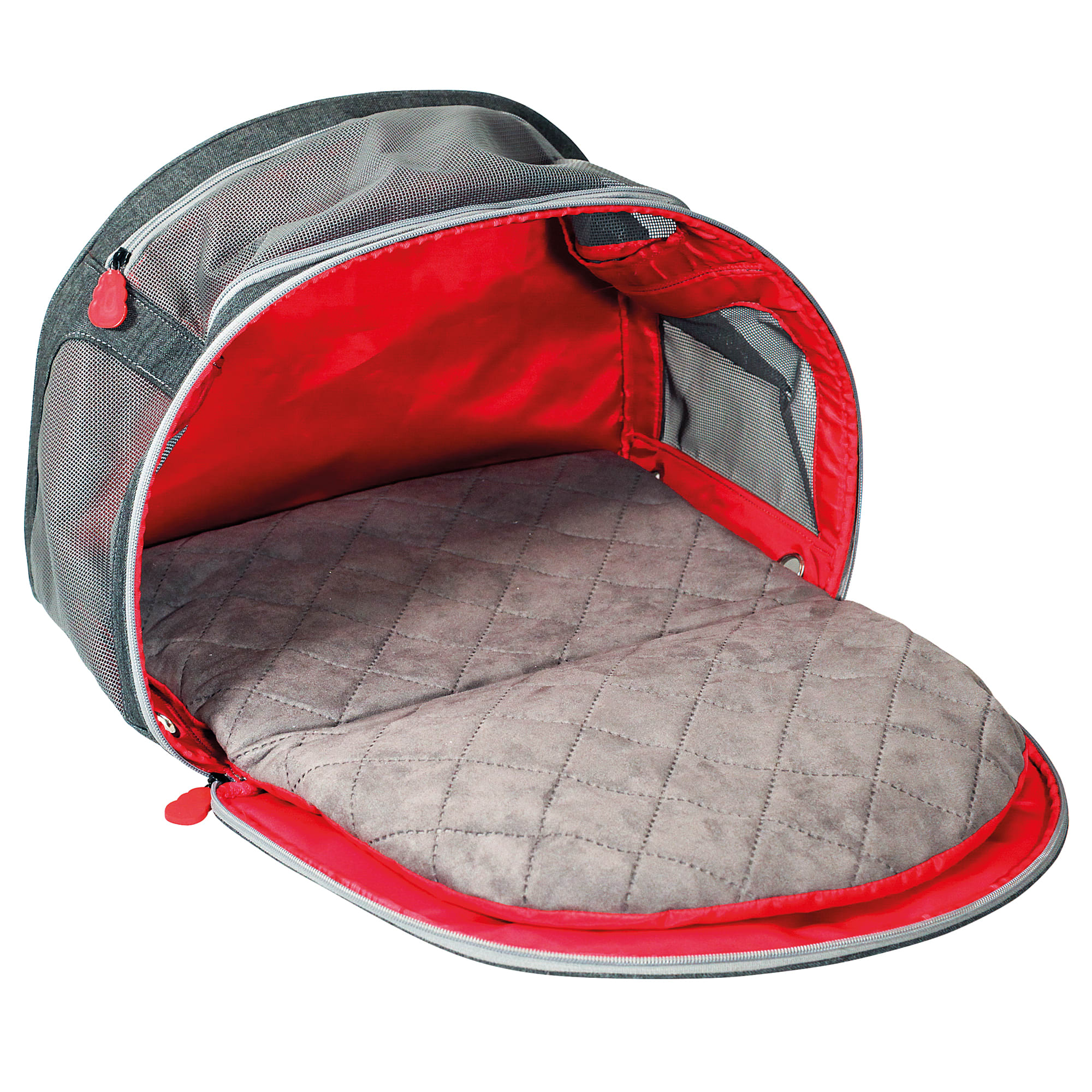 "KONG 2-In-1 Cat and Small Dog Carrier and Travel Mat, 20"" L X 9"" W X 13"" W, Medium"