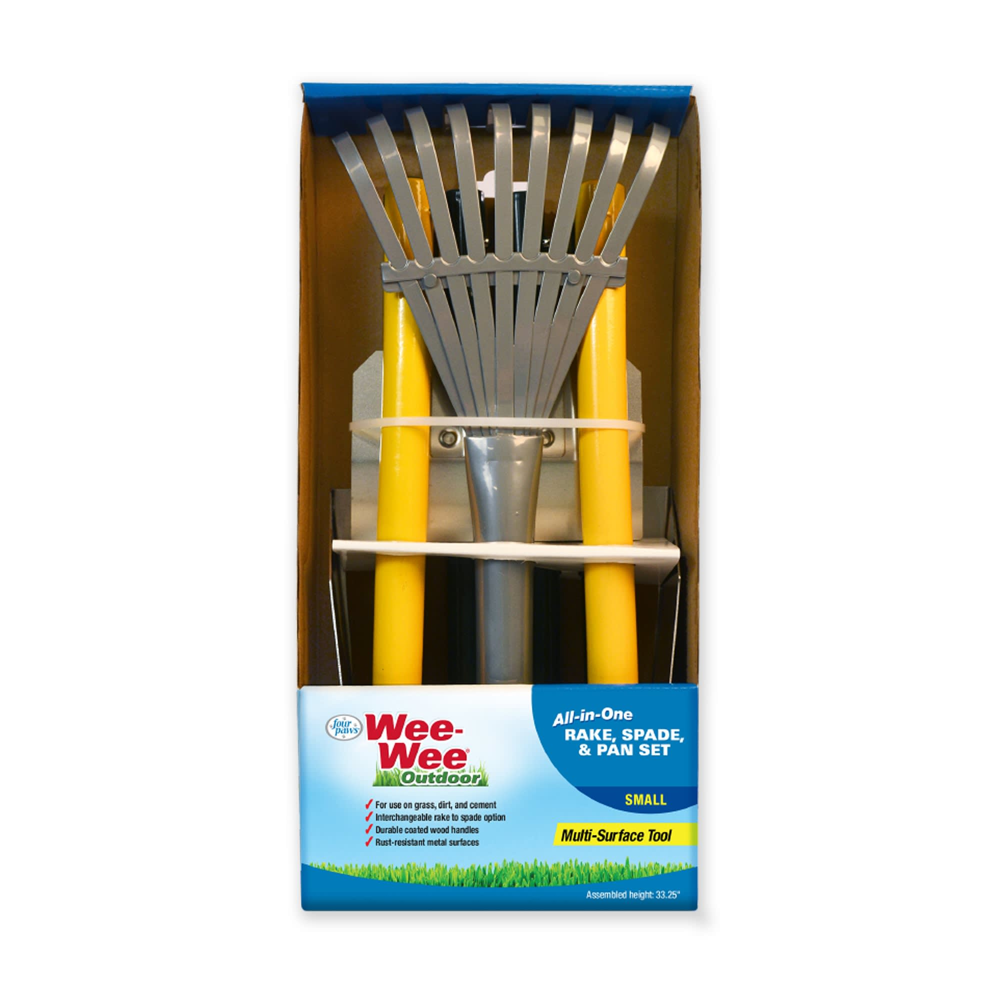 Wee-wee All-In-One Rake, Spade & Pan Set for Dogs, Small