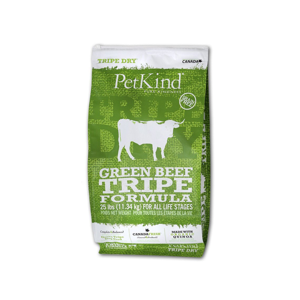PetKind Grain-Free Dry Dog Food with Tripe
