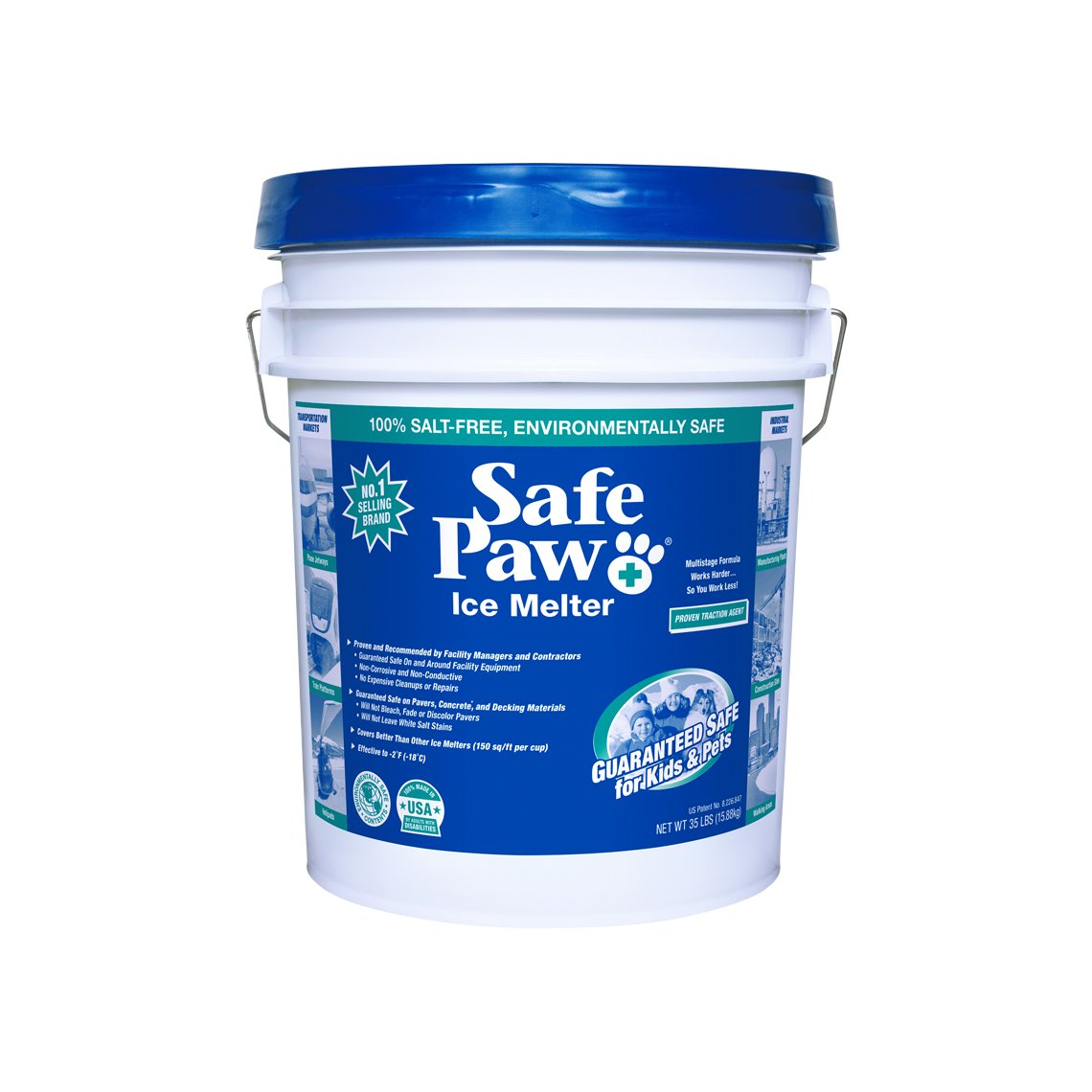 Safe Paw Non-Toxic Pet and Child Safe Ice Melter