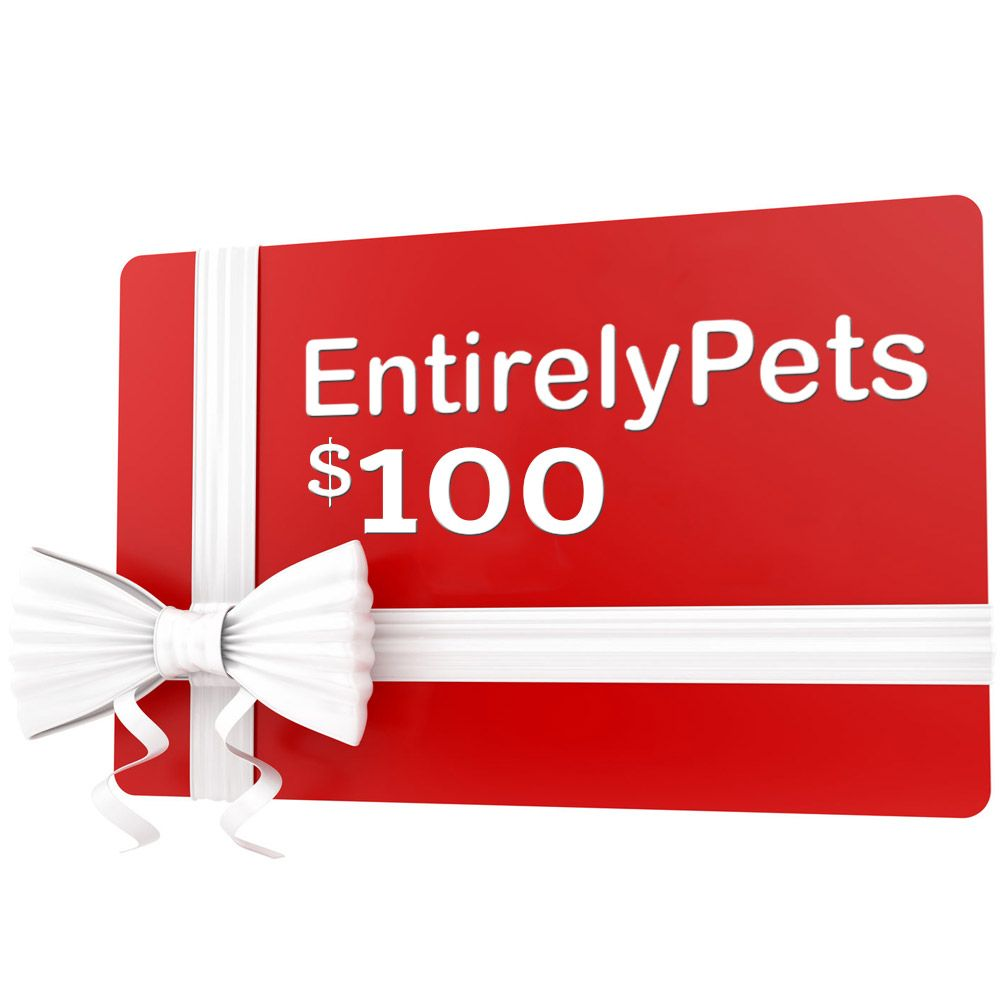 $100 EntirelyPets Gift Certificate