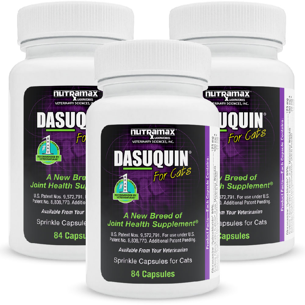 3-Pack Dasuquin for Cats (252 Capsules)