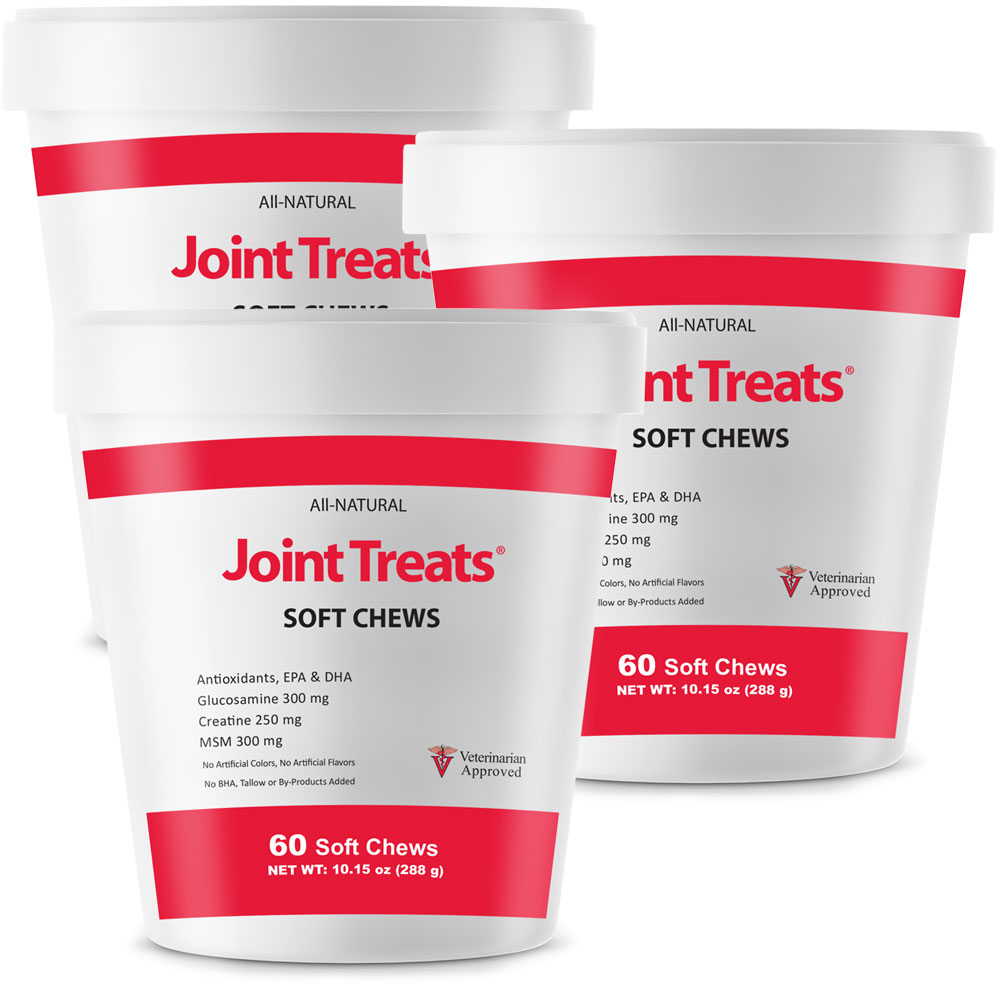 Joint Treats 3-Pack (180 Soft Chews)
