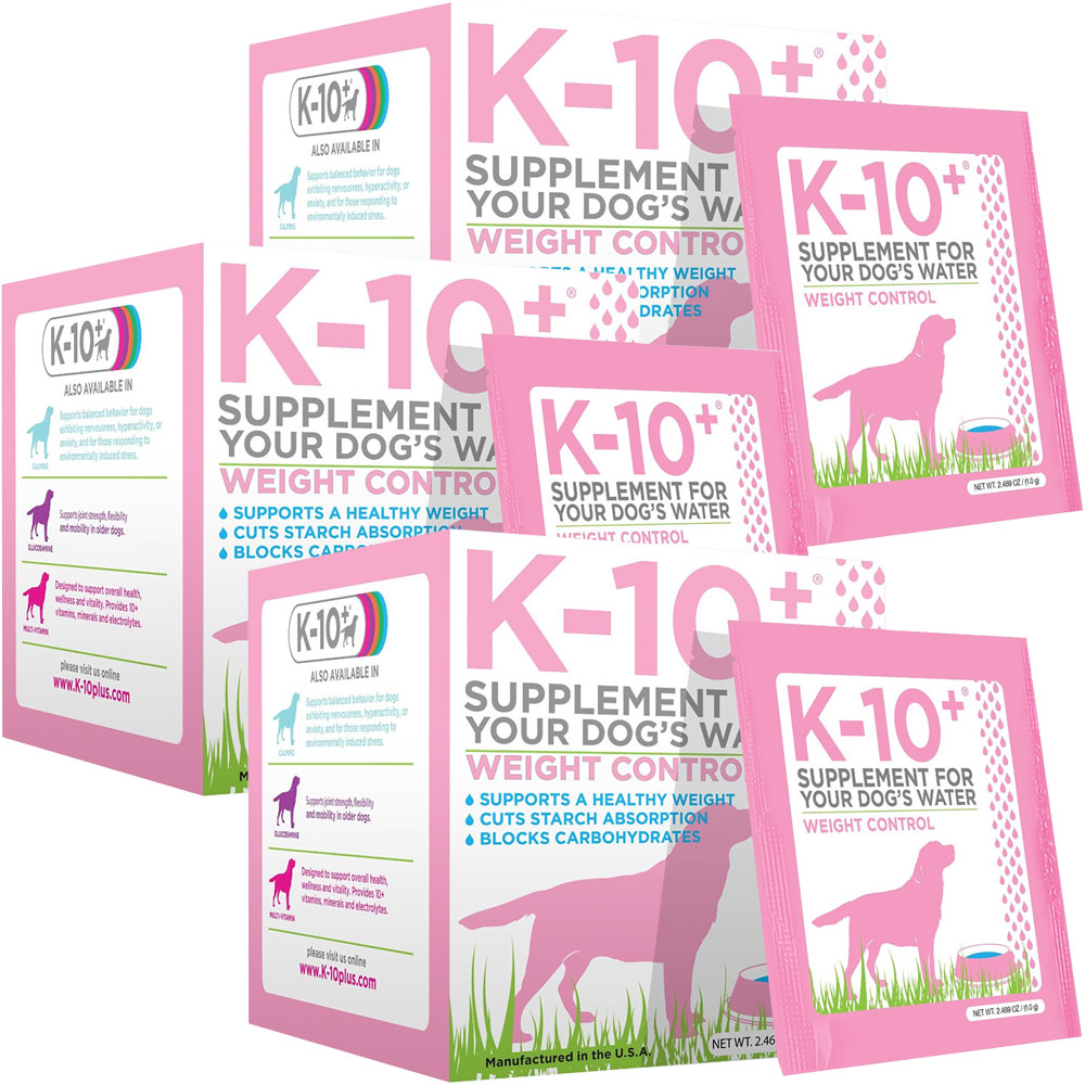K-10+ Weight Control 3-PACK