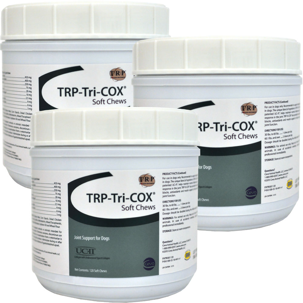 TRP-Tri-COX Soft Chews 3-Pack - 360 ct