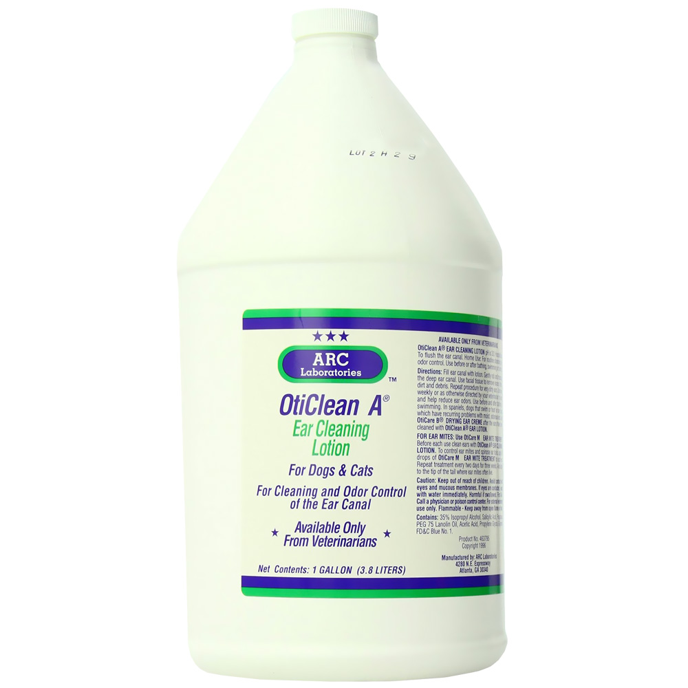 ARC Oticlean A Ear Cleaning Lotion (1 Gallon)