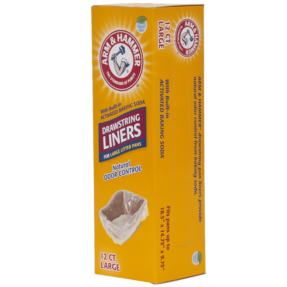 Arm & Hammer Drawstring Liners Large (12 pack)