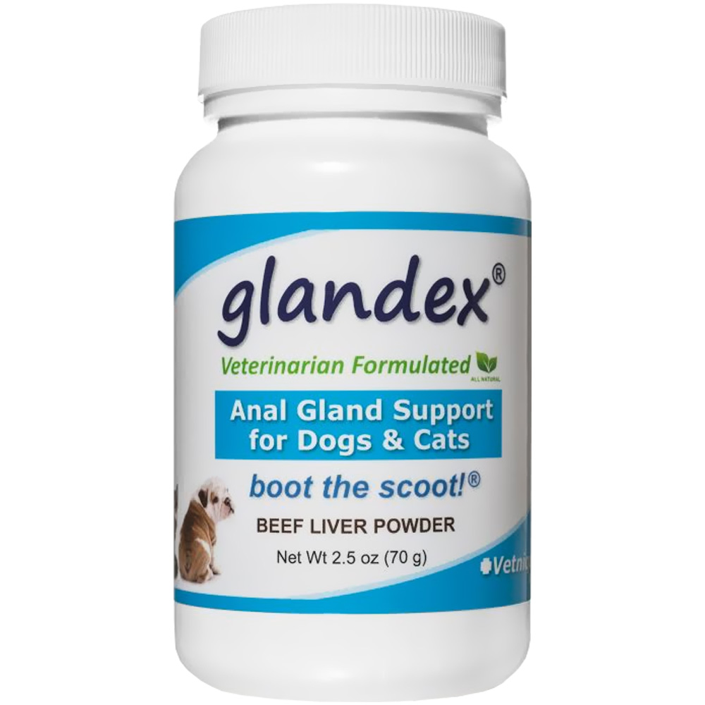 Glandex Anal Gland & Digestive Support for Dogs & Cats (2.5 oz)