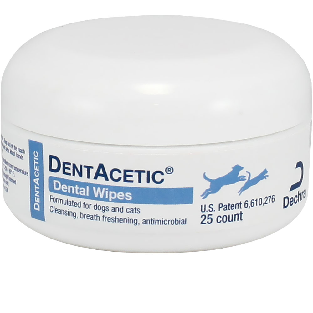 Dechra Dentacetic Dental Wipes (25 count)
