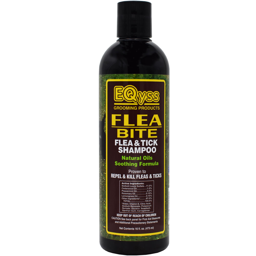 EQyss Flea Bite - Flea & Tick Shampoo for Pets (16 fl oz)