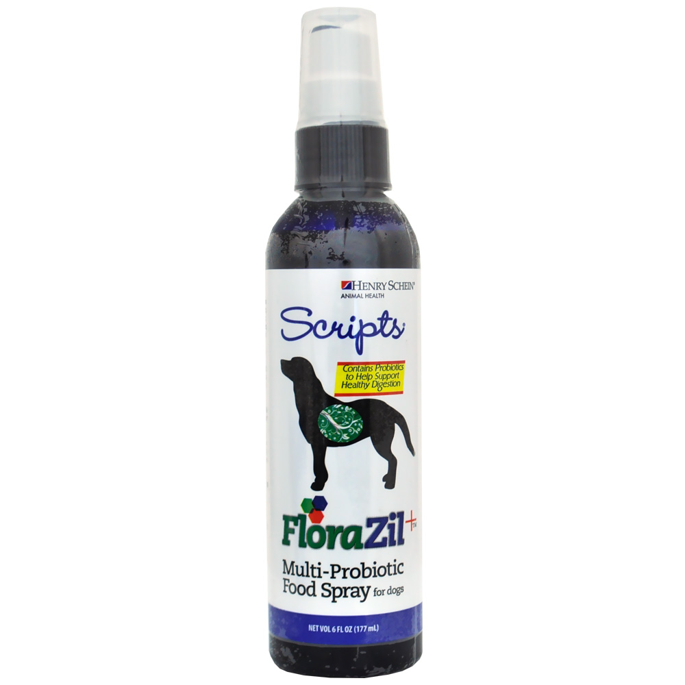 Florazil + Multi-Probiotic Food Spray for Dogs (6 oz)