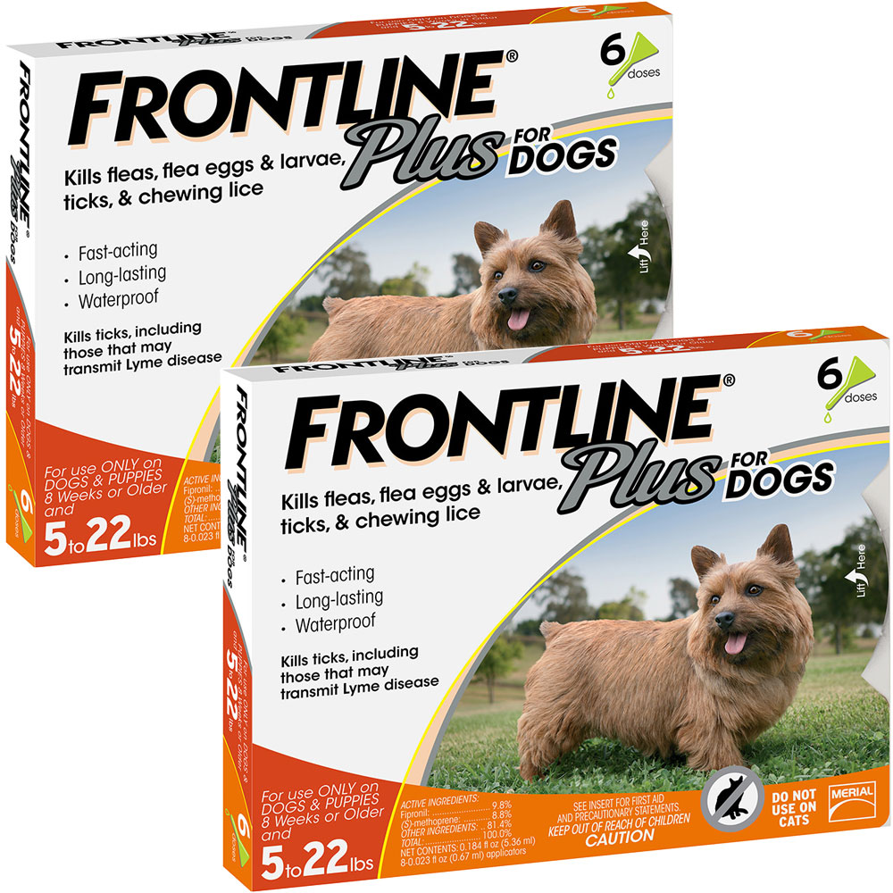 Frontline Plus for Dogs 0-22 lbs, 12 Month