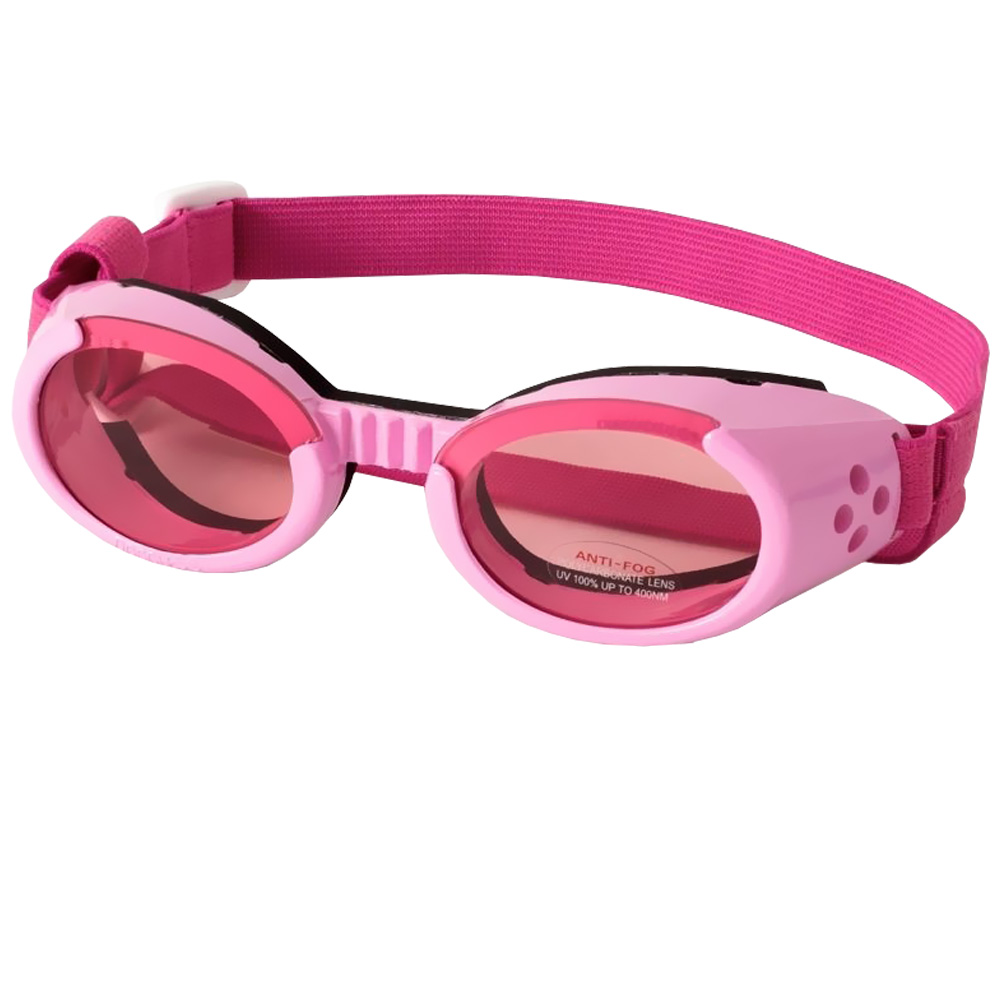 Doggles ILS - Interchangeable Lens System - Pink Frame / Pink Lens - Large