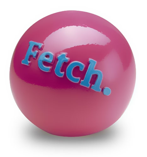 Planet Dog Orbee Tuff Fetch Ball - Pink