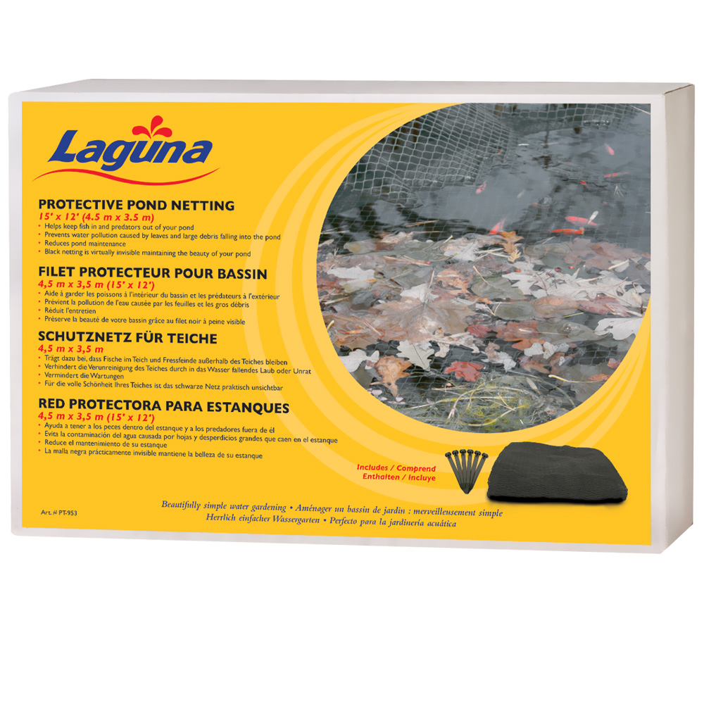 Laguna Pond Netting with stakes (15