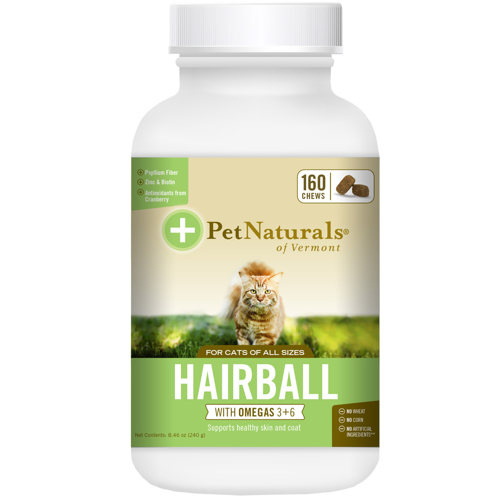 Pet Naturals Hairball for Cats (160 chews)
