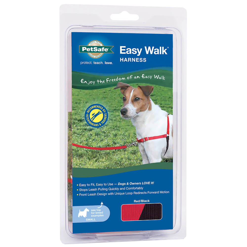 PetSafe Easy Walk Harness - Red/Black (Small)