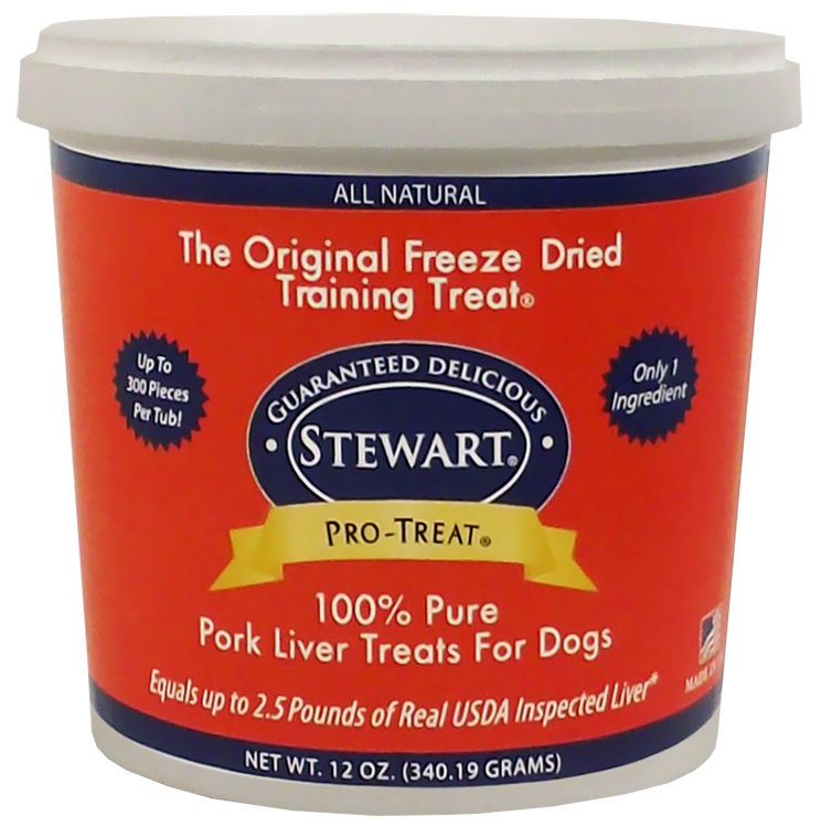 Stewart Freeze Dried - Pork Liver Treats (12 oz)