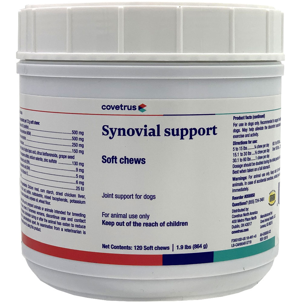 Synovial Soft Chews (120 count)