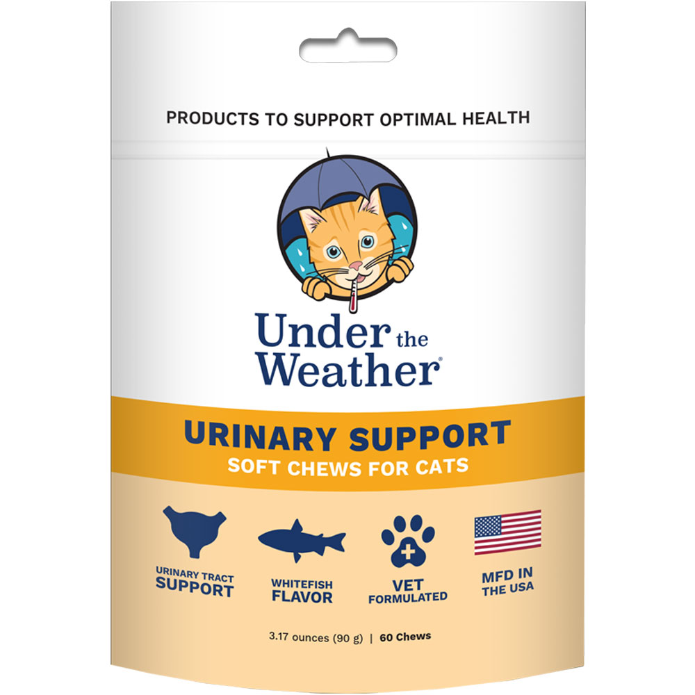 Under the Weather Soft Chews for Cats - Urinary Support (60 count)