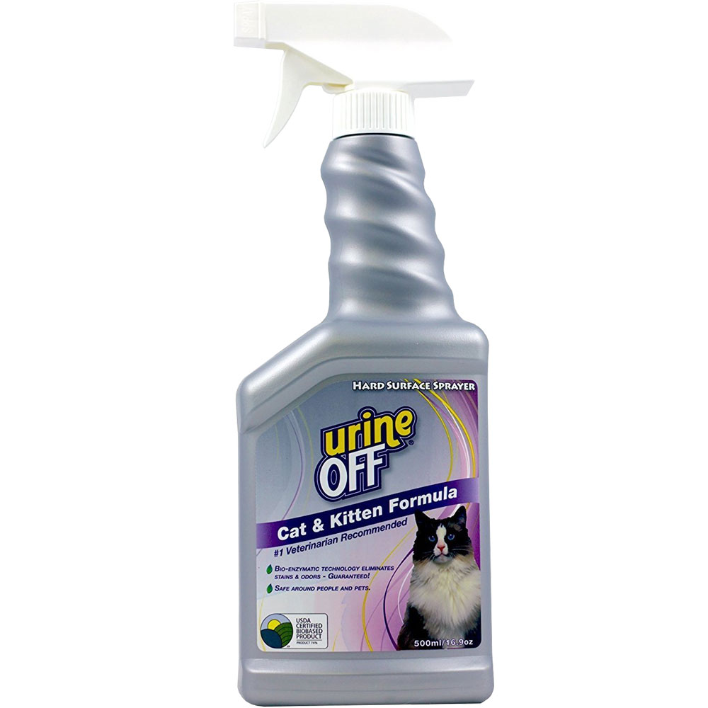 Urine Off Odor & Stain Remover for Cats (16.9 oz)